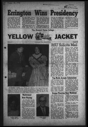 The Howard Payne College Yellow Jacket (Brownwood, Tex.), Vol. 57, No. 21, Ed. 1  Friday, March 13, 1970