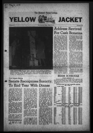 Primary view of object titled 'The Howard Payne College Yellow Jacket (Brownwood, Tex.), Vol. 57, No. 28, Ed. 1  Friday, May 8, 1970'.