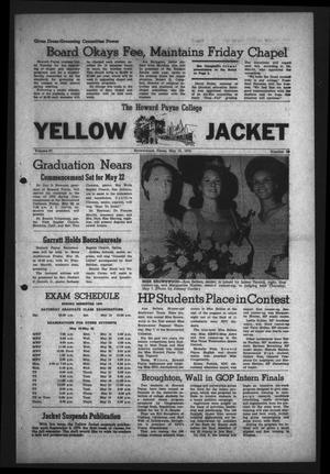 Primary view of object titled 'The Howard Payne College Yellow Jacket (Brownwood, Tex.), Vol. 57, No. 29, Ed. 1  Friday, May 15, 1970'.