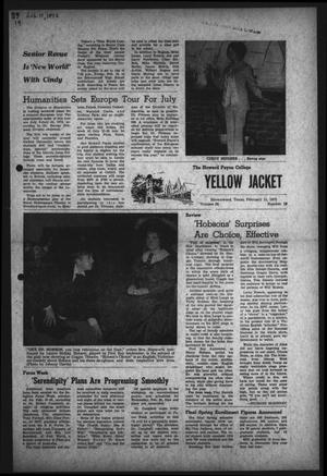 Primary view of object titled 'The Howard Payne College Yellow Jacket (Brownwood, Tex.), Vol. 59, No. 19, Ed. 1  Friday, February 11, 1972'.