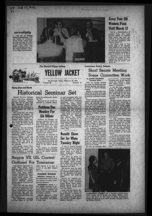 The Howard Payne College Yellow Jacket (Brownwood, Tex.), Vol. 59, No. 21, Ed. 1  Friday, February 25, 1972