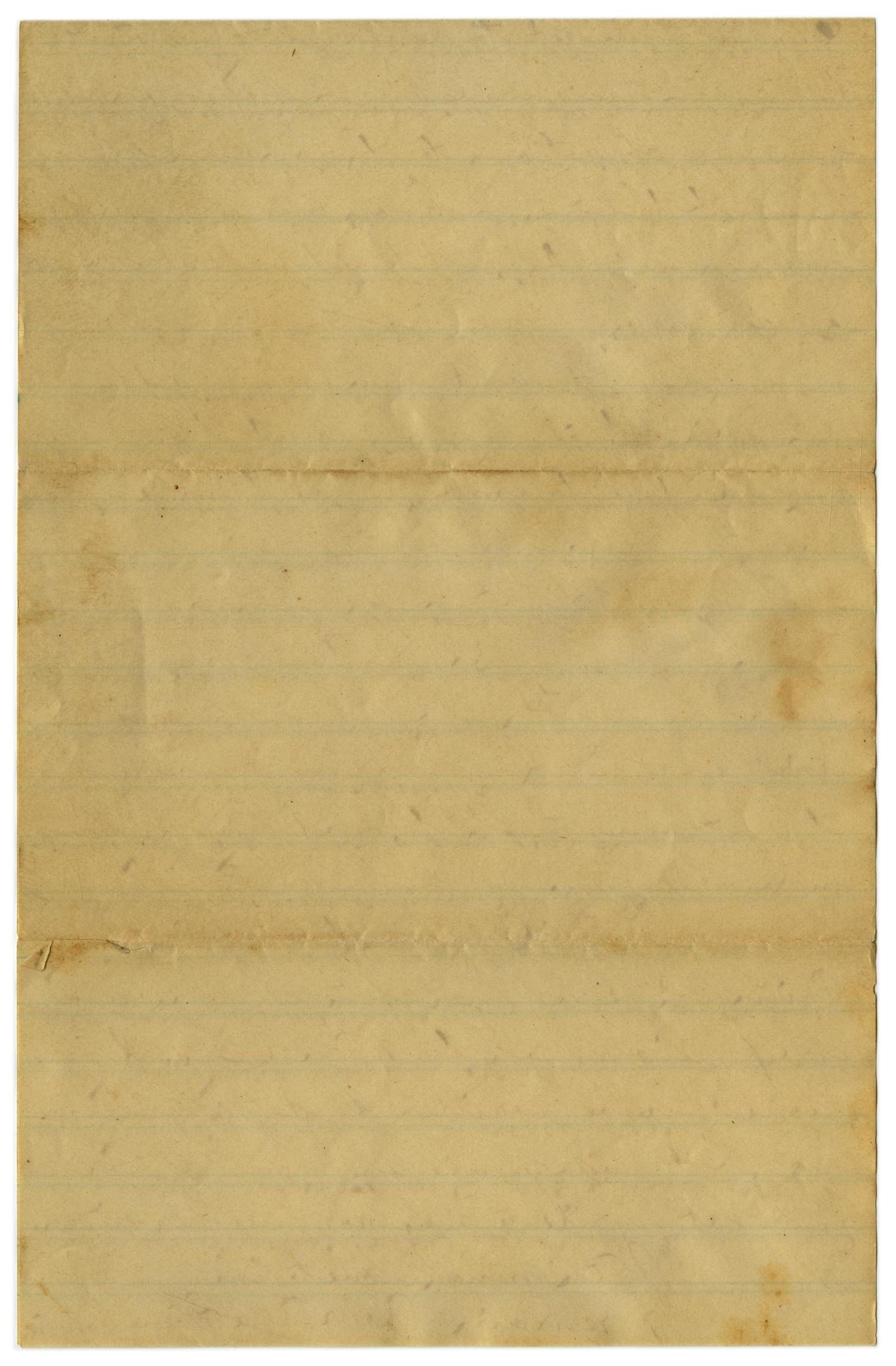 [Letter from John C. Brewer to Emma Davis, January 30, 1879]                                                                                                      [Sequence #]: 3 of 3