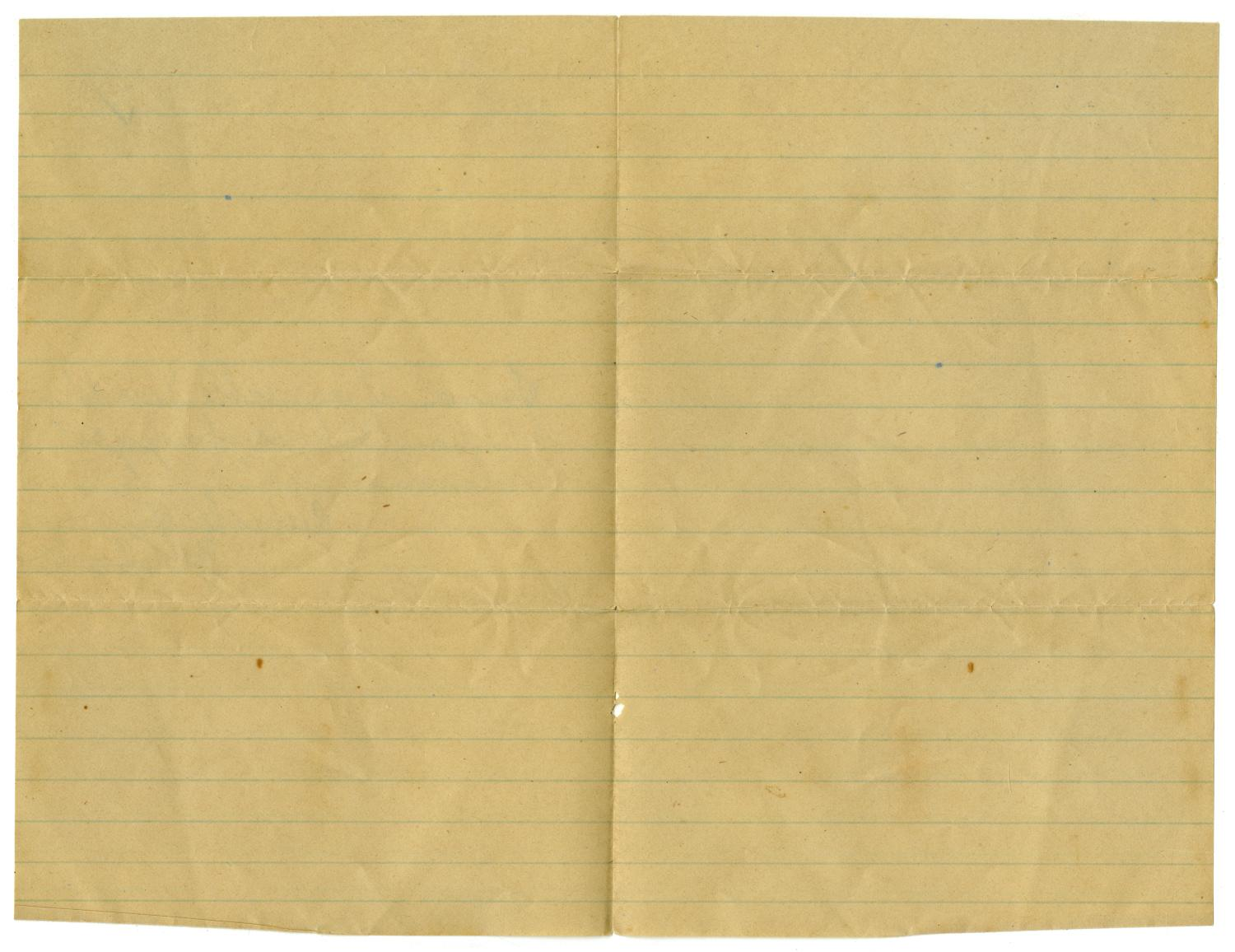 [Letter from John C. Brewer to Emma Davis, August 9, 1879]                                                                                                      [Sequence #]: 2 of 3