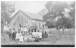 Primary view of object titled 'Andrews Chapel School'.