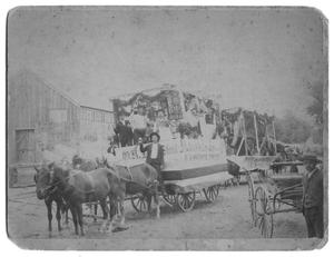 Primary view of object titled 'Monarch Saloon Float'.