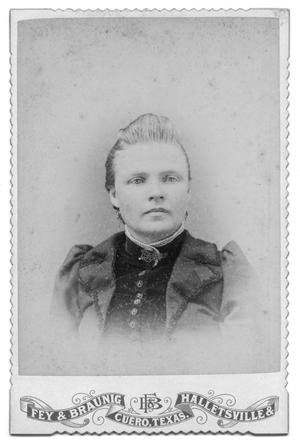 Primary view of object titled '[Portrait of an Unknown Woman]'.