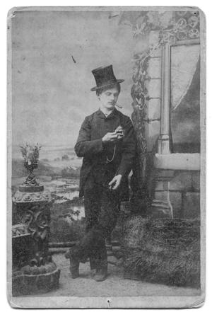 Primary view of object titled '[Portrait of an Unknown Man]'.