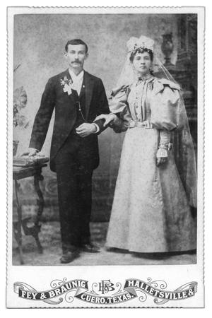 Primary view of object titled '[Portrait of an Unknown Couple]'.
