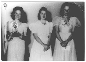 Three Women in Gowns