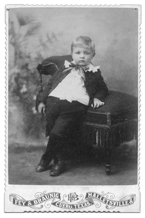 Primary view of object titled '[Portrait of an Unknown Boy]'.