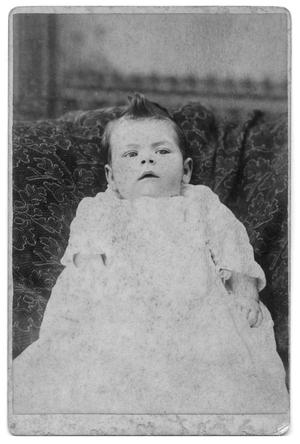 Primary view of object titled '[Portrait of an Unknown Child]'.