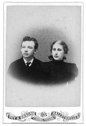 [Portrait of an Unknown Boy and Girl]