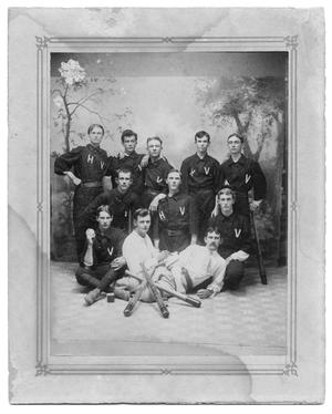 Primary view of object titled 'Hallettsville Vikings Baseball Team'.