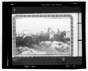 Primary view of object titled '[Harvesting Hay]'.