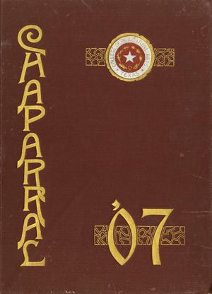 The Chaparral, Yearbook of the College of Industrial Arts, 1907
