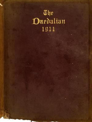 Primary view of object titled 'The Daedalian, Yearbook of the College of Industrial Arts, 1911'.
