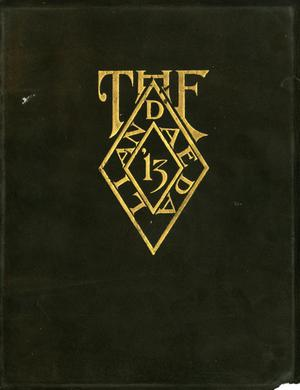 Primary view of object titled 'The Daedalian, Yearbook of the College of Industrial Arts, 1913'.