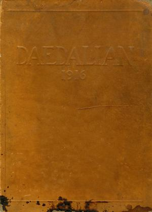 The Daedalian, Yearbook of the College of Industrial Arts, 1916