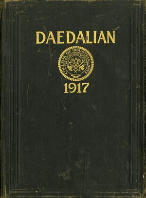 The Daedalian, Yearbook of the College of Industrial Arts, 1917
