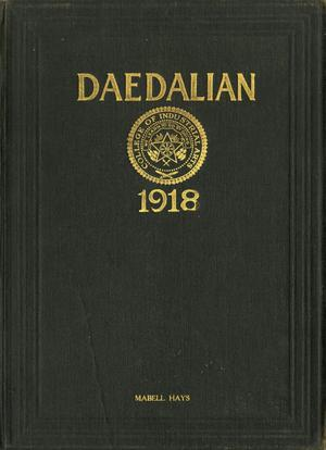 Primary view of object titled 'The Daedalian, Yearbook of the College of Industrial Arts, 1918'.