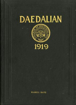 The Daedalian, Yearbook of the College of Industrial Arts, 1919