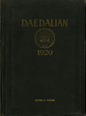 The Daedalian, Yearbook of the College of Industrial Arts, 1920