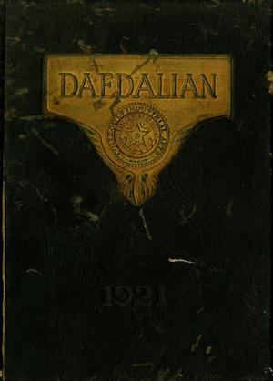 Primary view of object titled 'The Daedalian, Yearbook of the College of Industrial Arts, 1921'.