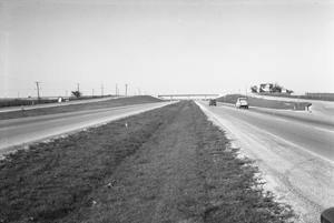 Primary view of object titled '[Interstate 35 in the Vicinity of Round Rock]'.