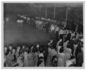Primary view of object titled '[Dance at Centennial Building in Fair Park]'.