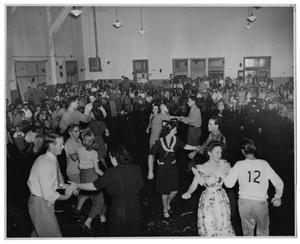 Primary view of object titled '[Square Dance at La Reunion Place]'.