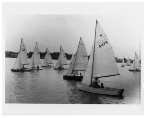 Primary view of object titled '[Boats on White Rock Lake]'.