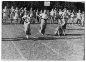 Primary view of object titled '[Sack Relay Race]'.