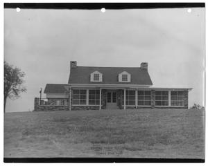Primary view of object titled '[Photograph of Winfrey Point Building at White Rock Lake Park]'.