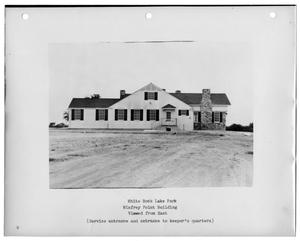 Primary view of object titled '[Photograph of Winfrey Point Building]'.
