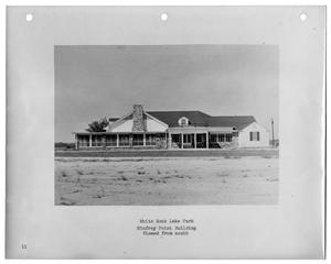 Primary view of object titled '[Photograph of Winfrey Point Building from South]'.