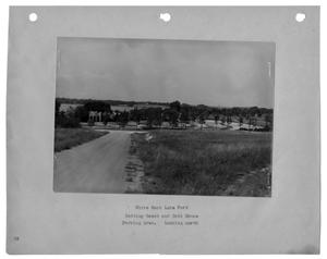 Primary view of object titled '[Photograph of Bathing and Beach House]'.