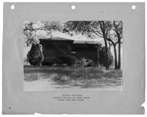 Primary view of object titled '[Photograph of Bachman Lake Park Comfort Station]'.