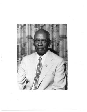 Primary view of object titled '[Portrait of Dr. Clarence W. Norris, Sr.]'.