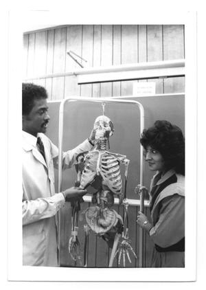 Primary view of object titled '[Photograph of Alfred Williams and Sally Gonzales]'.