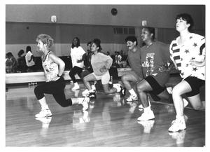 Primary view of object titled '[Aerobics Class]'.