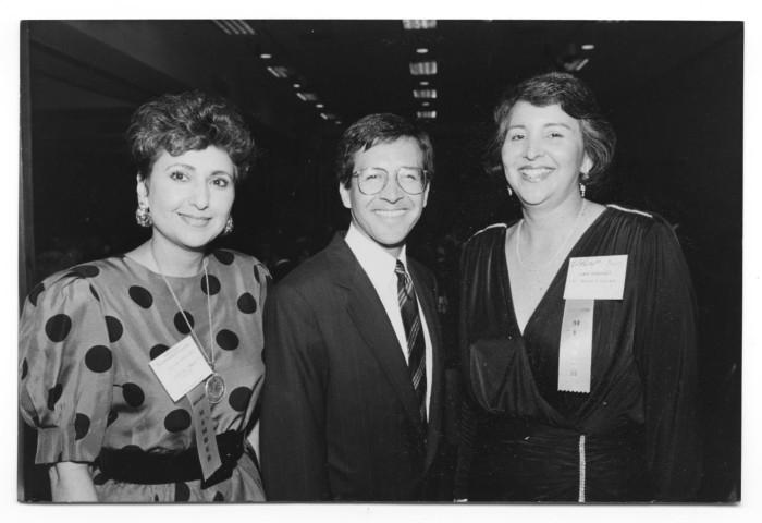 Photograph of Sylvia Rodriguez, Daniel Morales and Linda