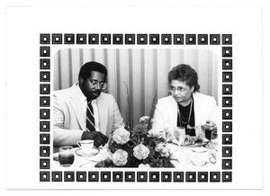 Primary view of object titled '[Photograph of Levi J. Jackson III and Dr. Gloria Jackson]'.
