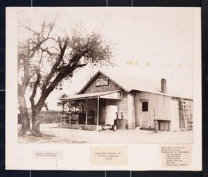 Primary view of object titled '[Ding Dong Grocery on FM 440, Lampasas River]'.