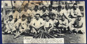 Primary view of object titled '[Killeen High School Baseball Squad, 1929]'.