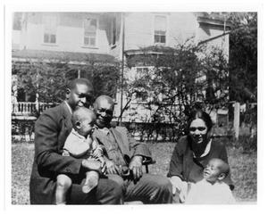 [Photograph of Artemisia Bowden's Family]