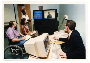 Primary view of object titled '[Distance Learning Workshop]'.