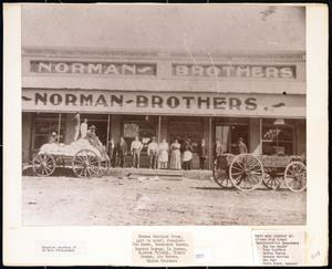 Primary view of object titled 'Norman Brothers Store'.
