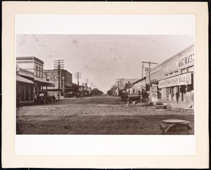 Primary view of object titled '[Street scene in Killeen]'.
