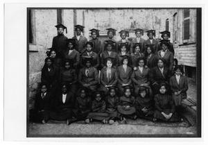 Primary view of object titled '[1914 St. Philip's Industrial School Graduating Class]'.