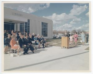 [Dedication Ceremony at the Killeen City Library]